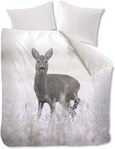 Beddinghouse Snow Deer Dekbedovertrek - Eenpersoons - 140x200/220 cm - Grijs