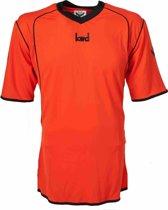 KWD Sportshirt Victoria - Voetbalshirt - Volwassenen - Maat M - Oranje/Zwart