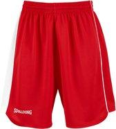 Spalding 4HER II  Basketbalbroek - Maat L  - Vrouwen - rood/wit
