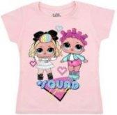 LOL Surprise t-shirt licht roze maat 116