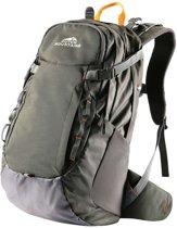 Dutch Mountains Backpack Vecht - Rugzak 30 Ltr - Rugventilatie + Regenhoes - Groen