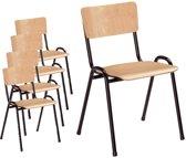 kantinestoel/schoolstoel Florion set van 6!
