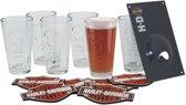 Harley-Davidson Embossed Pint Glas Set - LAATSTE KANS