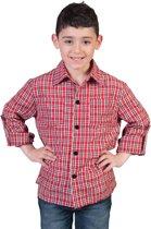 Cowboy & Cowgirl Kostuum   Ranger Cowboy Shirt Jongen   Maat 140   Carnaval kostuum   Verkleedkleding