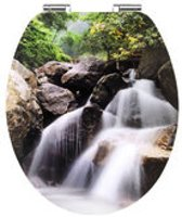 Cornat Waterfall decor toiletbril