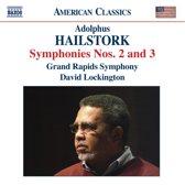 Hailstork: Symphony 2 & 3