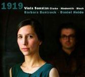 Clarke - Hindemith - Bloch: '1919 '