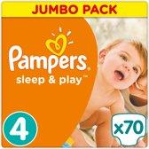 Pampers Sleep & Play - Maat 4 (Maxi) 8-16 kg - 70 Stuks - Luiers