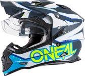 O'neal Crosshelm/Endurohelm Sierra II Slingshot Blue-XL