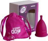 Menstruatie cup van Genial Day, maat M