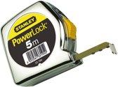 STANLEY Rolbandmaat – Rolmaat Powerlock - 5 Meter - 1-33-194