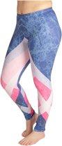 ZUMPREMA Geometric Marble Sport Legging