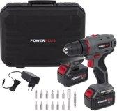 Powerplus POWE00042 Accuboormachine - 18 V - 2 accu's - incl. 14 accessoires
