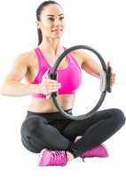Gymstick Pilates Ring Met Fitness DVD