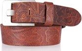 Cowboysbelt Kids Riemen Kids Belt 358034 Bruin Maat:65