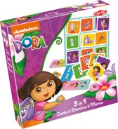 Dora 3in1 Lotto & Domino & Memo