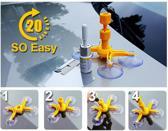 ProCar - Autoruit Reparatie Kit - Reparatie Tools voor Auto Ruit - Complete Set - Auto accessoires - Auto onderdelen - Auto ruit beschermer - Anti vries - Ijskrabber - Voorruit Reparatie Kit