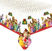 Super Mario Bros tafelkleed 137 x 243 cm.