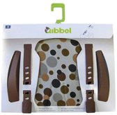 Qibbel Q515 - Stylingset Luxe Voorzitje - Dots Brown