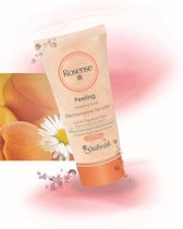 Rosense - Peeling Exfoliating Scrub - Rose & Chamomile Extracts- Contains Apricot Kernel Particles