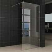 Inloopdouche Miami 90x200cm Antikalk Helder Glas Chroom Profielloos 8mm Veiligheidsglas Easy Clean