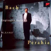 Bach: English Suites no 2, 4 & 5 / Murray Perahia