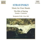 Stravinsky: Music For 4 Hands