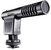 Walimex 18765 Digital camcorder microphone Bedraad Zwart microfoon