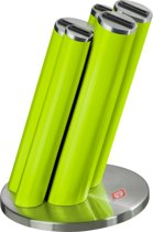 Wesco Knife Pipe Messenblok excl. messen Lime Groen