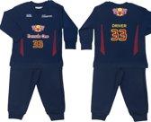 Fun2Wear Formula One (Formule 1) baby/kleuter/kinder/tienerpyjama - navy - Maat 122/128