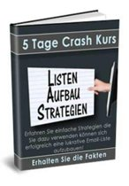 Crash-Kurs - Listenaufbau Strategien