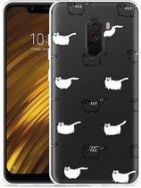 Xiaomi Pocophone F1 Hoesje Love my Cat