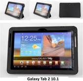 Samsung Tab 2 10.1 - P5100 - Business Boekmodel case Tablet - Zwart