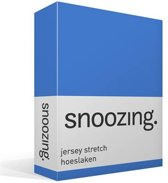 Snoozing Jersey Stretch - Hoeslaken - Lits-jumeaux - 200x200/220 cm - Meermin