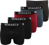Bonanza boxershorts - 5-Pack - Katoen - Casual/Basic - Maat XXL