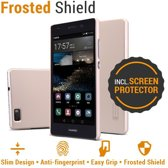 Nillkin Backcover Huawei P8 Lite (2016 editie) - Super Frosted Shield - Goud