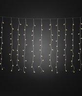 Konstsmide Kerstverlichting buiten - Lichtgordijn cherry LED 200 lampjes - 2.5x1 meter - Warm wit