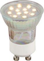 Lucide LED BULB GU10 - Led lamp - Ø 3,5 cm - LED - GU10 - 1x2W 2700K - Transparant