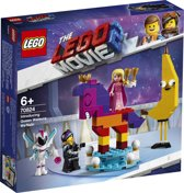 LEGO The Movie 2 Maak Kennis met Koningin Watevra Wa'Nabi - 70824