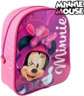 Disney Minnie Mouse Rugzak met Schrijfgedeelte + 2 Markers 25x31x10 cm Roze