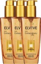 Elvive Extraordinary Oil Alle Haartypes - 3 x 100ml