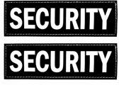 Ezydog Harnas Patch - Security - 5x15 cm