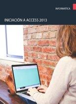 Iniciacion a Access 2013