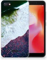 Xiaomi Redmi 6A TPU Hoesje Design Sea in Space