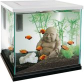 Superfish Zen 30 Aquarium - 30x30x30 cm - 27L - Wit