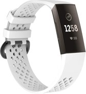 Fitbit Charge 3 bandje sport SMALL  –  wit Watchbands-shop.nl