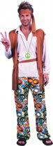 Hippie peace kostuum voor heren One size