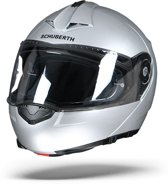 SCHUBERTH C3 PRO GLOSSY ZILVER SYSTEEMHELM M