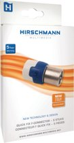 F-connector Quick Fix recht 5 stuks