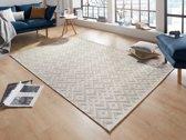 Modern vloerkleed Alley - crème 77x150 cm